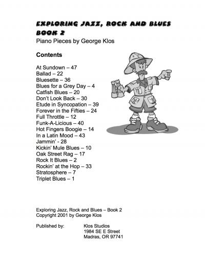 Exploring-JRB-Book-2-Contents-Page
