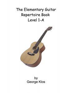 Guitar Repertoire 1A Cover